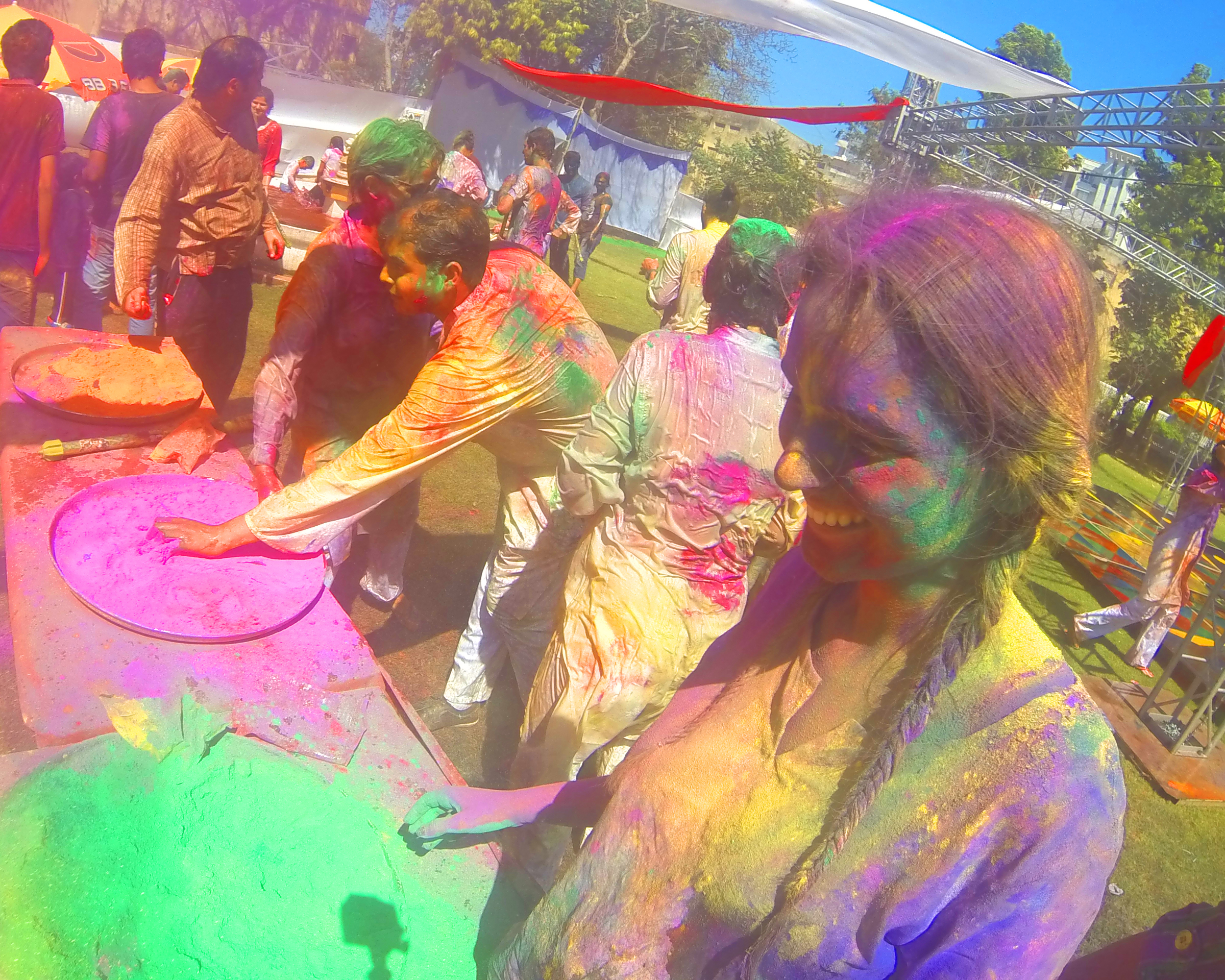HAPPY HOLI, A GoPro Video