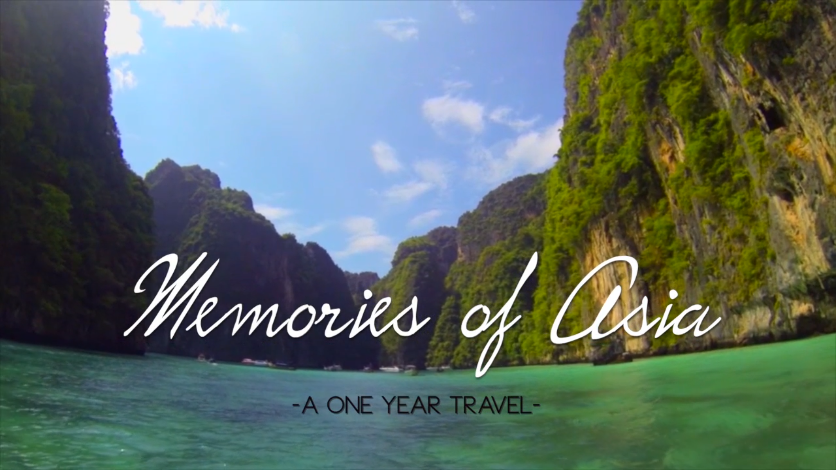 Memories of Asia -One year Travel-